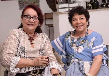 Célia Gomes e Ismênia Quadros
