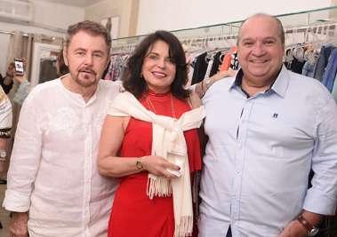 Marlene Goudim, entre Suca Baratz e Sérgio Carvalho