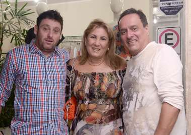 Vitor Baratz, Cristina Valente e Adriano Grangeon