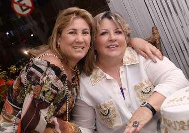 Cristina Valente e Helen Meyer