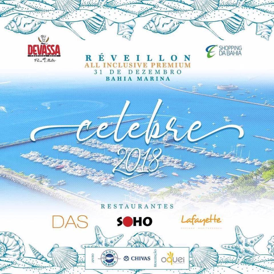 Lançamento do Réveillon Celebre 2018 na Bahia Marina em Salvador