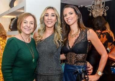Regina Weckerle, Lila Moraes Kunz e Luzia Botta em fotos de Valterio