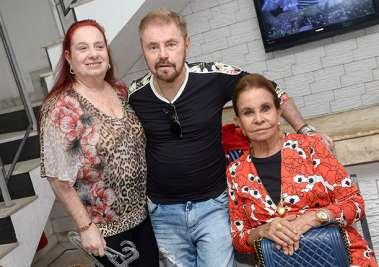 Ethel e Suca Baratz, Maria Helena Mendonça em fotos de Valterio