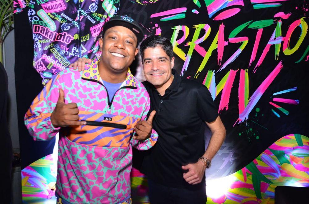 Márcio Victor comemorou aniversário nesta quarta-feira (25) com festa temática em Salvador (BA)
