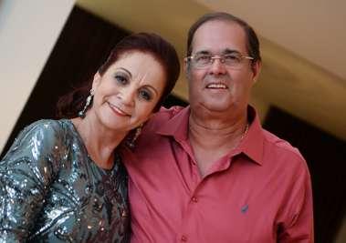 Moema e Paulo César Ribeiro em fotos de Valterio Pacheco