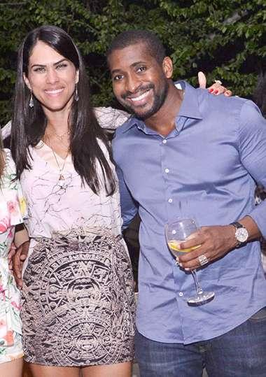 Aline e Jeferson Senegal em fotos de Valterio