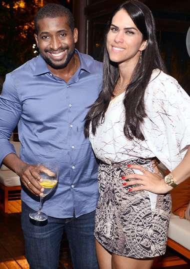Jeferson Sengal e Aline Senegal em fotos de Valterio