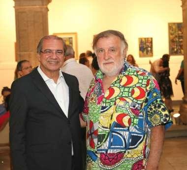 Roberto Sá Menezes e Ramiro Benabó