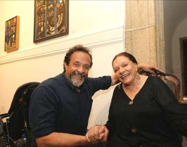 Bel Borba e Nair de Carvalho viúva de Genaro