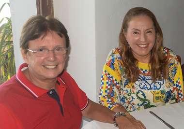 Marcia e Guto Amoedo em fotos de valterio