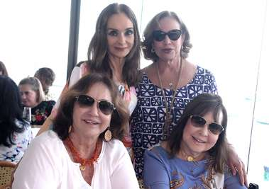Verinha Luedy, Zélia Passos, Marita Figueredo e Juca Lisboa
