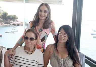 Maria Helena Mendonça, Verinha Luedy e Juliana Dourado