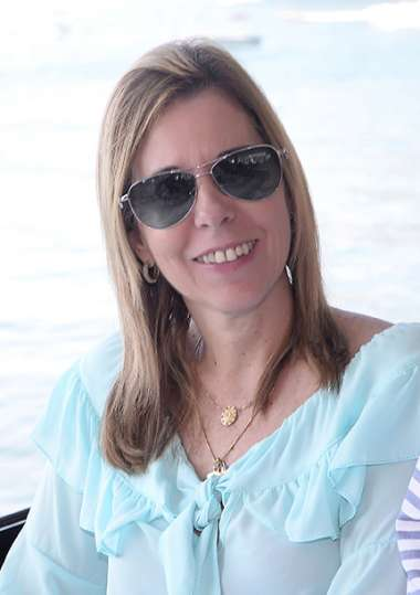 Claudia Ribeiro em fotos de valterio