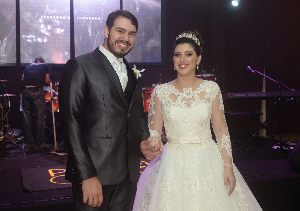 Casamento de Leonardo Dias e Fernanda Oliveira no Cerimonial Rainha Leonor