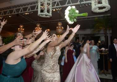 Foto de Valterio no casamento de Leonardo Dias e Fernanda Oliveira