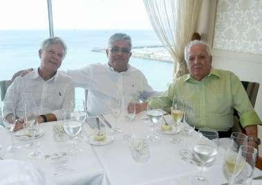 Eduardo Bastos, Marcelo Carvalho e Francisco Amaral em fotos de Valterio