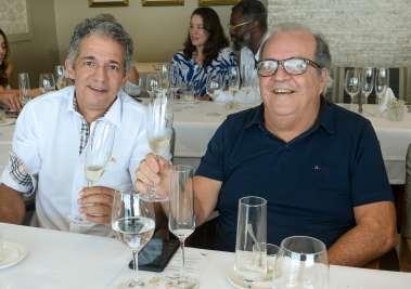 Fábio Andrade e Sérgio Ferraz em fotos de Valterio