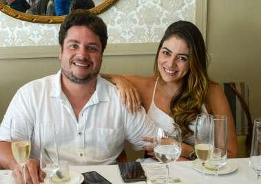 Ricardo Cal e Juliana Tavares em fotos de Valterio