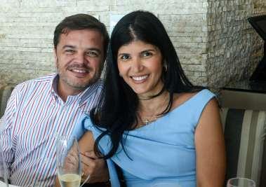 Roberto Calumby e Clara Lemos Calumby em fotos de Valterio