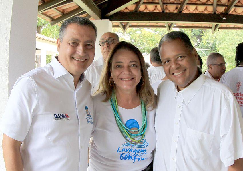 Governador Rui Costa e comitiva do Governo do Estado abrem os festejos da Lavagem do Bonfim com café da manhã no Palácio de Ondina
