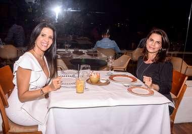 Roberta Carneiro e Angélica Guimarães em fotos de Valterio Pacheco