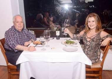 Francisco Amaral e Graça Valadares no Amado em fotos de Valterio Pacheco