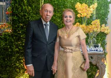 Ester e Jaime Coelho e sua festa de aniversário em fotos de Valterio