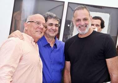 Roberto Oliva, Paulo Darzé e Ricardo Saback em fotos de valterio