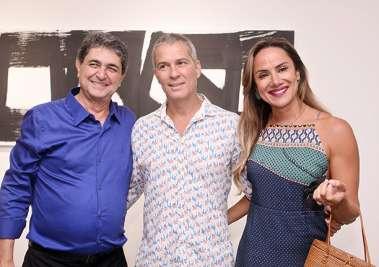 Paulo Darzé, Gustavo Moreno e Luciana Lobo em fotos de Valterio