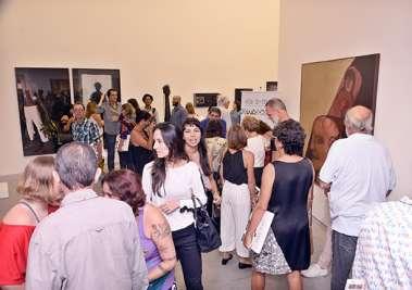 Panorâmica da galeria de Arte Paulo Darzé