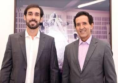 Diego Moraes e Cláudio Moraes em fotos de valterio