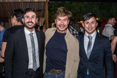 Renato França, Carlinhos Rodeiro e Tamyr Mota