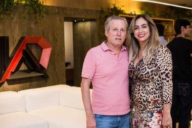 Luiz Mendonça Filho e Carmem Bittencourt