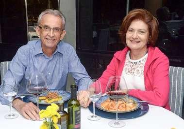 Vera Spínola e Antonio Valença em fotos de Valterio