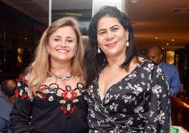 advogada Cristina David com a juíza Consuelo Medauar em fotos de valterio