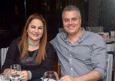 Desembargadora Loudes Medauar e Fabiano Santana em fotos de Valterio