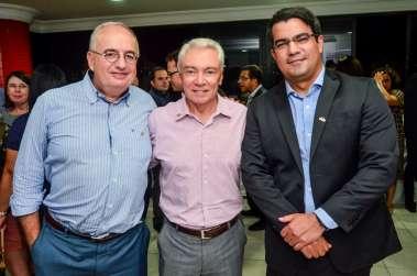 Dr Renato Coelho, Dr João Soares e Dr Daniel Argolo