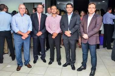 Dr Renato Coelho, Rubens Covello, Dr Carlos Frederico, Dr Daniel Argolo e Dr Fernando Nunes
