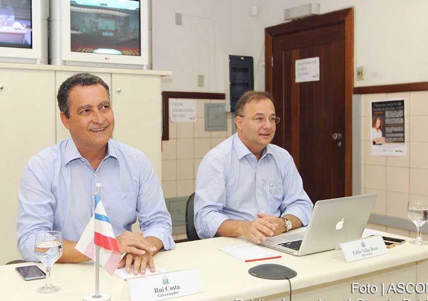 Rui Costa e o Secretário de Saúde Fábio Vilas-Boas entregaram dia 29/08, o Centro de Hemodiálise que funciona no Hospital Alayde Costa no Subúrbio