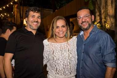 Adriano Mascarenhas, Andrea Velame e Rogério Menezes_Foto Lucas Assis