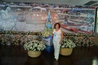 A jornalista Janete Freitas foi destaque na feijoada do dia 2 de fevereiro. Janete é colunista social da Tribuna da Bahia e da revista do Yacht Clube