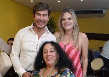 Carlos Rodeiro, Gabriela Macedo e a Desembargadora Maria do Socorro Santiago em fotos de Valterio Pacheco
