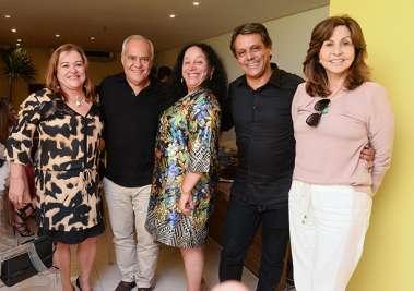 Desembargadores, Júlio Travesso, Sérgio Cafezeiro, Maria do Socorro Santiago, Márcia Borges e Nájla Brito em fotos de Valterio Pacheco