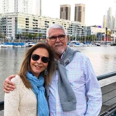 Cristina e Wilson Santos, ela a aniversariante de hoje dia 29 de dezembro