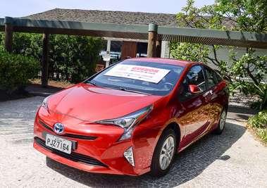 Prius um carro elétrico e a gasolina, lançamento da Toyota(hyberid)