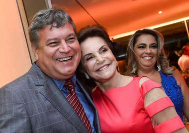 Marcos Pedreira, Leninha Pedreira e Rosana Lins Pedreira