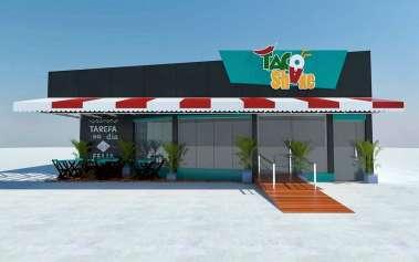 TACO SHAKE - A rede fast food de comida mexicana chega ao Itaigara  nesta segunda, dia 22.10