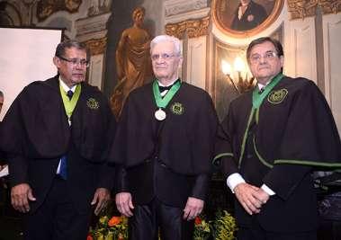 Roberto Badaró, Irismar Reis de Oliveira e Antonio Carlos Vieira Lopes em fotos de Valterio