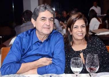 Cristina e Paulo Darzé em fotos de Valterio no Amado