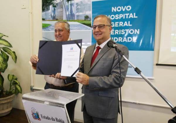Governo da Bahia anuncia novo Hospital Geral Clériston Andrade em Feira de Santana